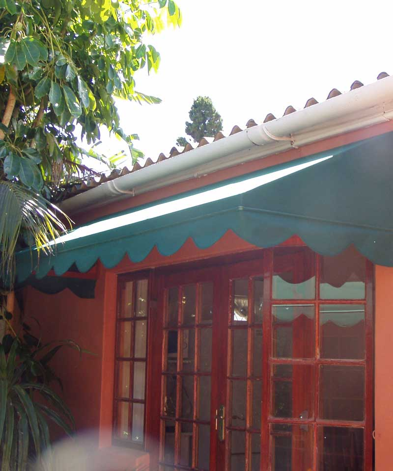 Home Canvas Awnings Fixed Wedge