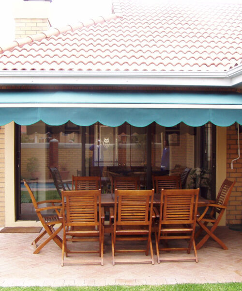 Canvas Awnings Retractable