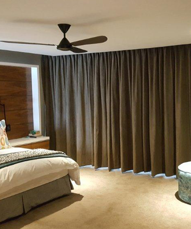 Motorised Blinds Amp Curtain Tracks All Weather Awnings