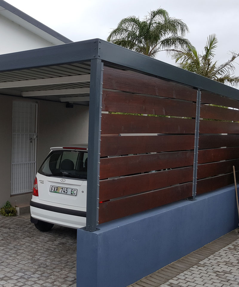 Light Steel Frame Structures Cape Town South Africa: All Weather Awnings